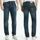 Nudie Men's Slim Fit Jeans Trousers Grim Tim B-Stock Small Defects New
