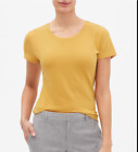 Banana Republic Women's Timeless Short Sleeve Crew Neck Premium-Wash Tee T-Shirt