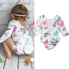 US Baby Girl Easter Rabbit Romper Jumpsuit Bodysuit Playsuit Outfits Clothes