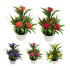 Artificial Fake Lotus Flower Potted Plant Bonsai Party Garden Home Decor