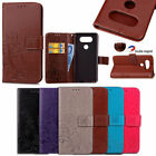 Leather Magnetic Card Wallet Folding Stand Protective Case Cover For LG G5 G4 G3