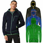 Regatta Mens Cartersville V Hooded Marl Stretch Full Zip Fleece Jacket