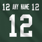 Green Bay Packers NFL Football Jersey Any Name Any Number custom Lettering Kit $29.99 CAD on eBay