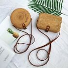 Us Bali Island Hand-woven Rattan Bag Straw Purse Handmade Wicker Crossbody Beach