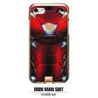 MARVEL AVENGERS Metal Color Jelly Case for Apple iPhone, Samsung Galaxy, LG