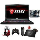 "MSI GE63 Raider RGB 15.6"" 144Hz Core i7-8750H RTX 2080 2070 2060 Gaming Laptop"