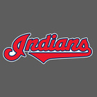 Cleveland Indians Jersey Logo Sticker Vinyl Vehicle Laptop Decal on Ebay