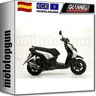 GIANNELLI ESCAPE COMPLETO HOMCAT IPERSPORT NEGRO YAMAHA BW'S 125 4T 2011 11