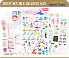 Oriday, Calendar Planner Stickers 6 Sheets, Stickers for Productivity
