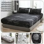 Stone Pattern Bedspread Bedding Cover Protector Proof Dust Mite Mattress Pad New image