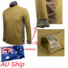 Star Trek Beyond Spock Science Officer Shirt Uniform Cosplay Yellow Costume New on eBay