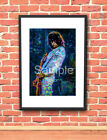 Jimmy Page Led Zeppelin Rock Guitar  art print FREE Shipping