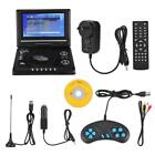 7.8'' Portable Mobile DVD Player 3D Sound LCD Swivel Screen Car TV/CD Charger