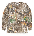 Berne Mens Realtree Edge 100% Cotton Longshot Pocket Tee S/S