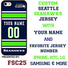 Seattle Seahawks Football Phone Case Cover Personalized for iPhone LG etc. $26.98 USD on eBay