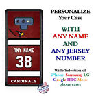 Arizona Cardinals A18 Personalized Football Phone Case cover fits Samsung etc. $25.98 USD on eBay