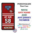 San Francisco 49ers A18 Personalized Football Phone Case Cover Fits Samsung etc. $27.98 USD on eBay