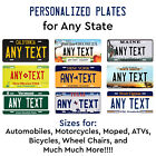 Kyпить Customized License Plate Tag Personalized for Any State Auto Car Motorcycle ATV на еВаy.соm