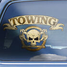 Tow Truck Driver Crossbones Decal - Vehicle Recovery Towing Skull Badge Sticker