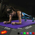 Внешний вид - 6mm Yoga Mat Thick Gym Exercise Fitness Mat Non Slip Pilates Workout 61x173cm