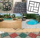 DIY Driveway Paving Pavement Concrete Mold Stepping Stone Pathmate Mould Paver image