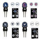 MLB Baseball - Divot Tool with 3 Ball Markers - Pick your Team