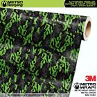 MINI METRO GREEN Camouflage Vinyl Vehicle Car Wrap Camo Film Sheet Roll Adhesive