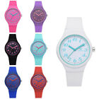 Silicon Strap Fashion Women's Watches Ladies Solid Pattern Casual Wrist Watch image