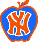 New York Knicks Apple LOGO Vinyl Decal / Sticker 5 Sizes!! on eBay