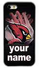 Custom Arizona Cardinals Personalised Name Rubber Phone Case For iPhone/Samsung $14.66 CAD on eBay