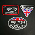 Triumph Motorcycles Embroidered Iron On Sew On Patch Free P&P €2.77 EUR on eBay