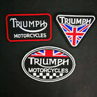Triumph Motorcycles Embroidered Iron On Sew On Patch Free UK Stock P £1.97 GBP on eBay