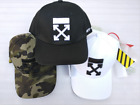 BNWT OFF-White Cap Baseball-cap adjustable Unisex golf Hat with Belt Tail 3color