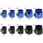 AN4-AN12 hose end finisher aluminium alloy fuel oil water pipe clamp c Wd LL günstig