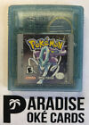 Pokemon Silver Gold Crystal Gameboy GBC AUTHENTIC New Battery, Cleaned, & Tested