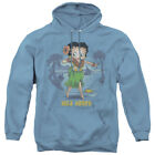 Betty Boop HULA HONEY Hawaii Luau Grass Skirt Licensed Adult Sweatshirt Hoodie $43.9 USD on eBay