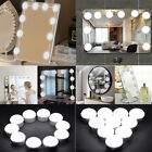 LED USB Vanity Lighted Hollywood Makeup Mirror With Stage Beauty Mirror Lights