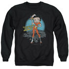 Betty Boop FRIES WITH THAT SHAKE? Waitress Licensed Adult Sweatshirt S-3XL $34.9 USD on eBay