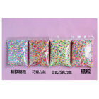 DIY 100g Polymer Clay Colorful Fake Candy Sweet Sugar Sprinkles All Beauty Decor image