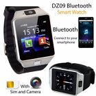 DZ09 Bluetooth Smart Watch Phone Camera SIM Card For Android Samsung iOS iPhone
