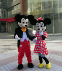 Hot New Adul Mickey and Minnie Mouse Mascot Costume Party Clothing Fancy Dress