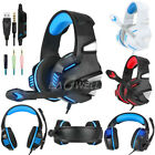 2019 3.5mm Wired Stereo Gaming Gamer Headset Headphone Earphones with Microphone