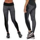 Womens Sport Compression Fitness Leggings Running Gym Yoga Pants Ladies Trousers