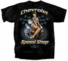 Vintage Chevy Pin up Officially Licensed T.Shirt