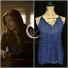 be056a530af1 ASO Elena Gilbert ZOA Anthropologie Dotted Tank Sz S, M The Vampire Diaries