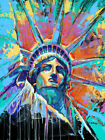 HD Print The Famous Statue of Liberty Art Home Decor Oil Painting on Canvas