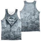 SUPERMAN MADE OF STEEL Sublimation Men's Graphic Tank Top Sleeveless Tee SM-3XL
