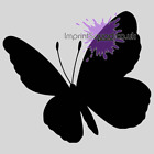 Butterfly Wall Art Stickers Window Sticker (many Colours) (36)