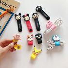 Portable Cute Disney Silicone Earphone Cable Winder Stand Organizer Cord Holder