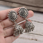 Kyпить Fashion Women's Silver Antique Ethnic Small Bell Drop Indian Bollywood Earrings на еВаy.соm